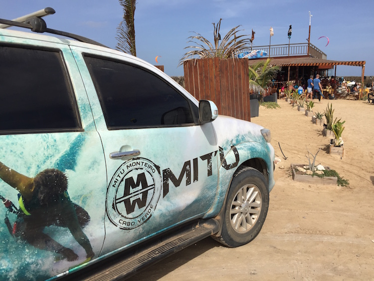Kite Beach Sal Kitesurfen Mitu Marleen hoftijzer