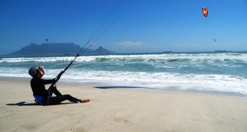 Kitesurfen Blouberg Kaapstad