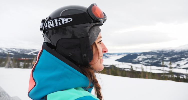 Kleding voor Lapland Helm Skibril