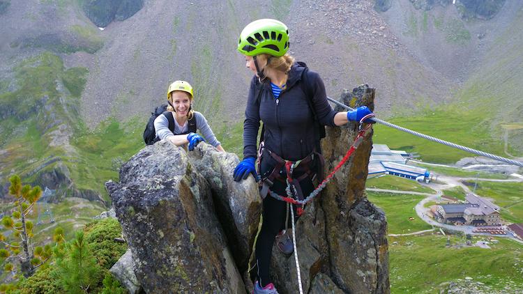 Klettersteigen zomer stubai tips activiteiten