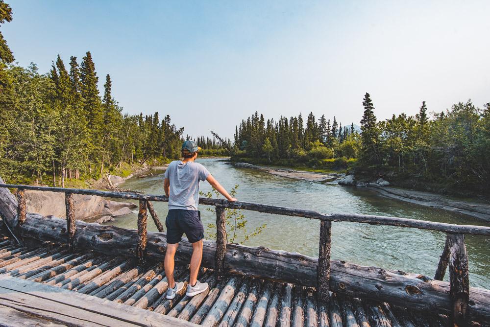 Kluane National park Yukon Aishihik River-2