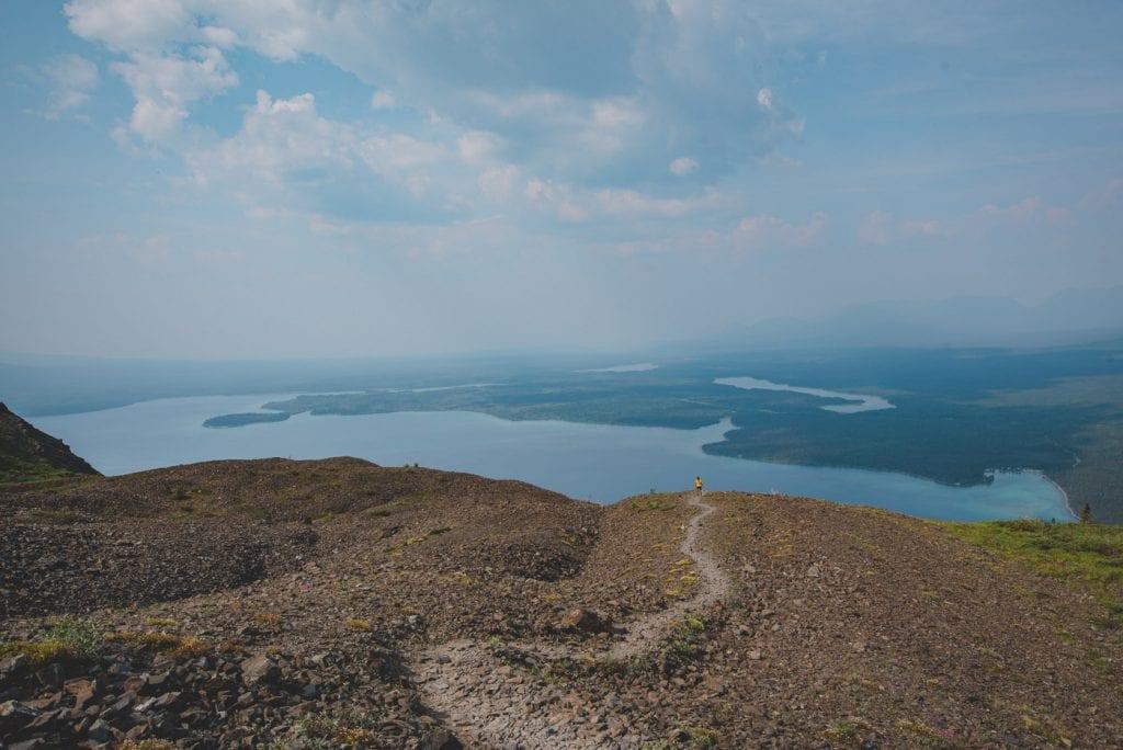 Kluane national park kings throne trail hike top-4