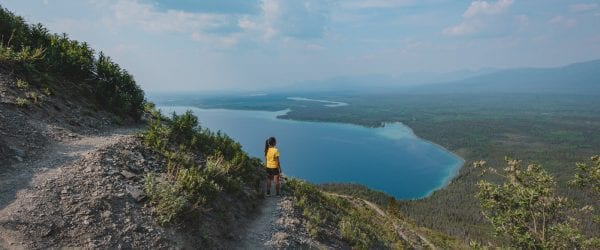 Kluane national park kings throne trail wandeling