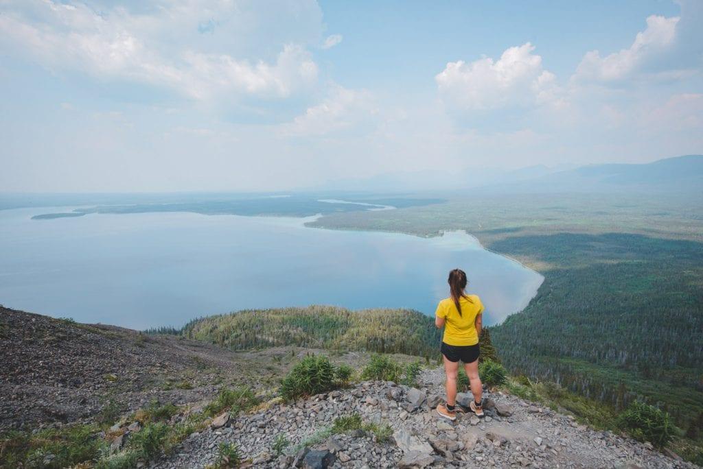 Kluane national park yukon canada hike