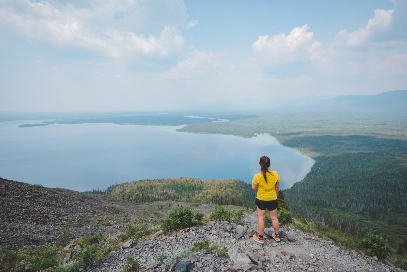 Kluane national park yukon canada hike