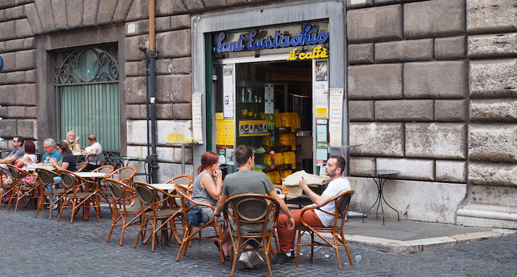 Koffie in Rome