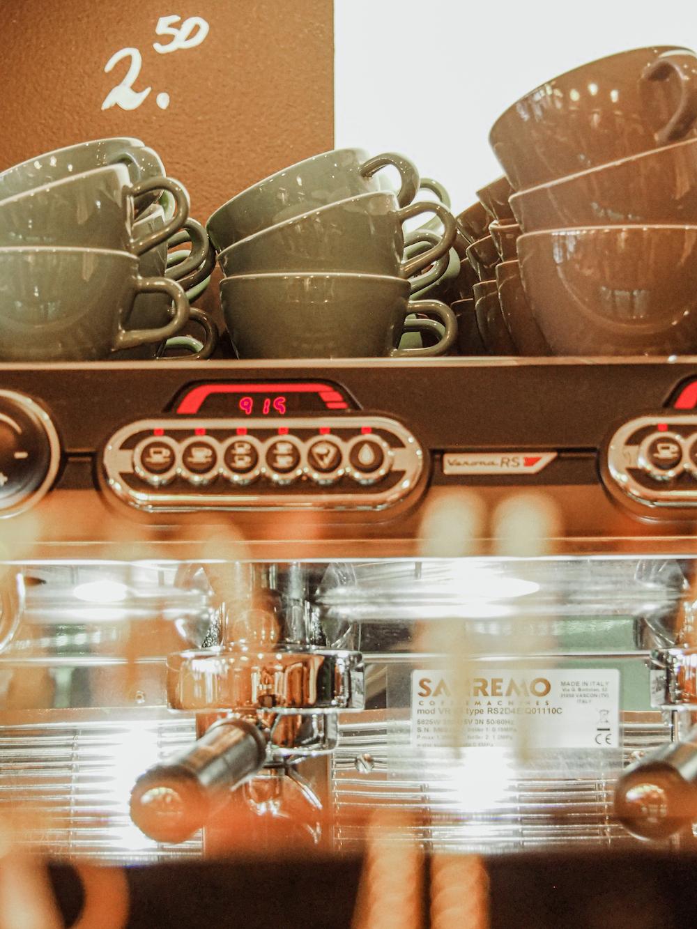Koffietentjes in Haarlem