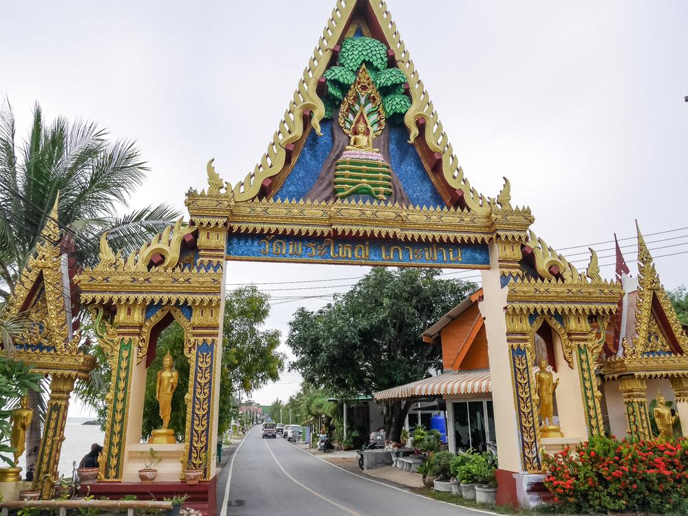 Koh Samui tempels Wat Phra Yai poort