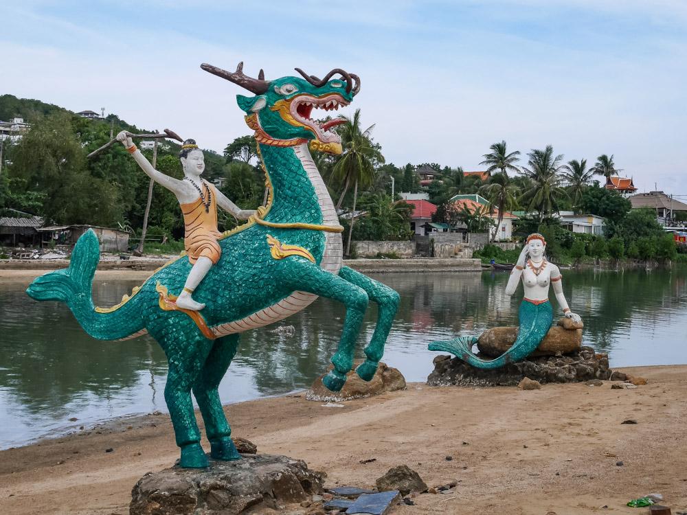 Koh Samui tempels tips Wat Phra Yai