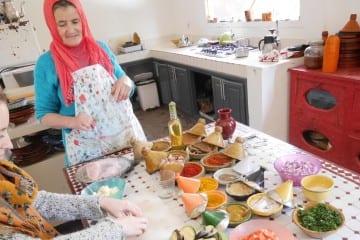 Koken in marokko marrakech