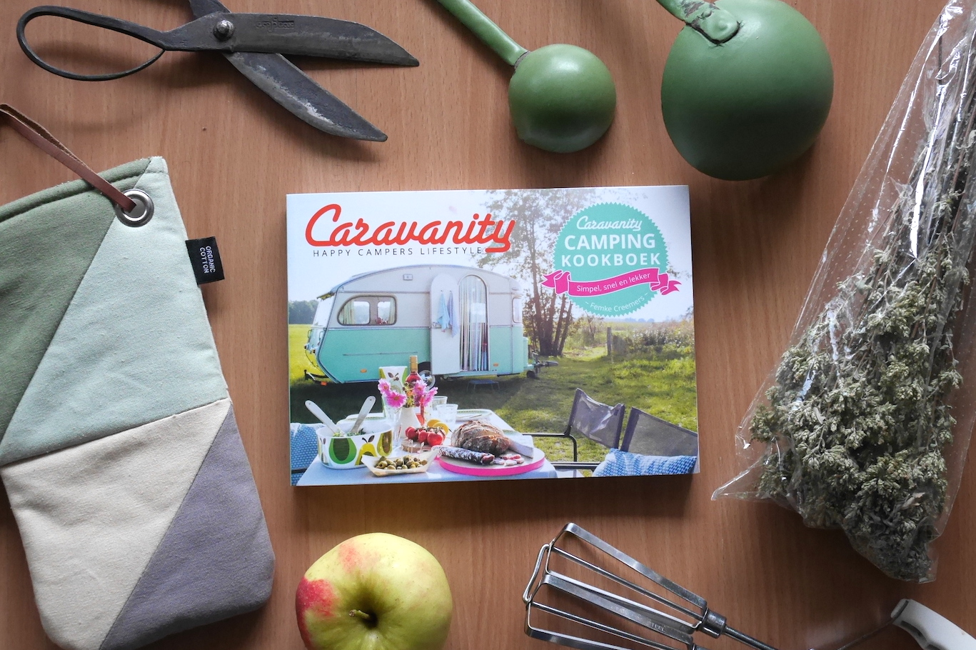 Koken op de Camping Caravanity