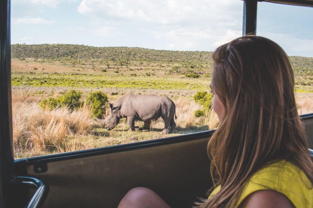Kololo Game Reserve safari zuid afrika