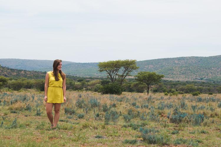 Kololo Game Reserve wandeling natuur