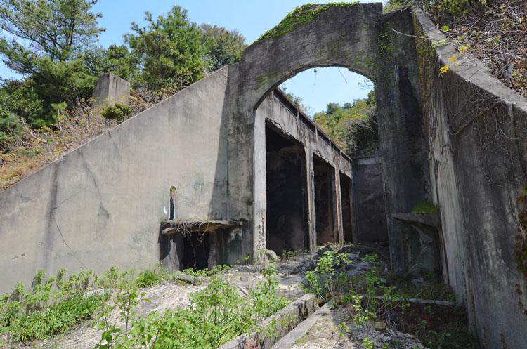 Konijneneiland Okunoshima ruine gifgas fabriek