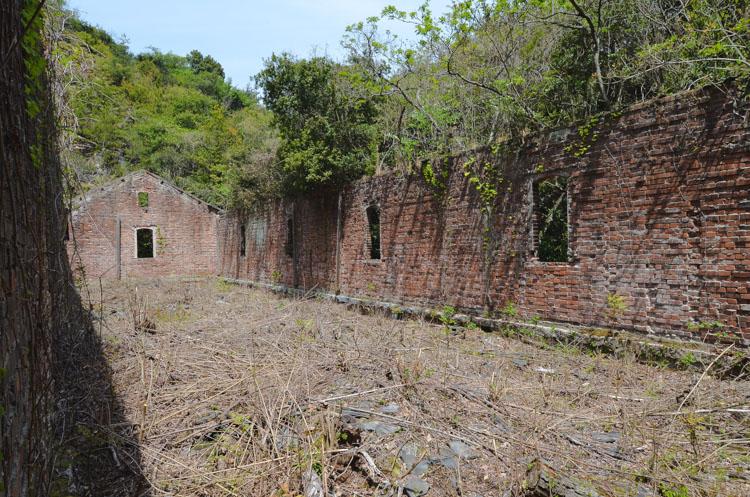 Konijneneiland Okunoshima ruines