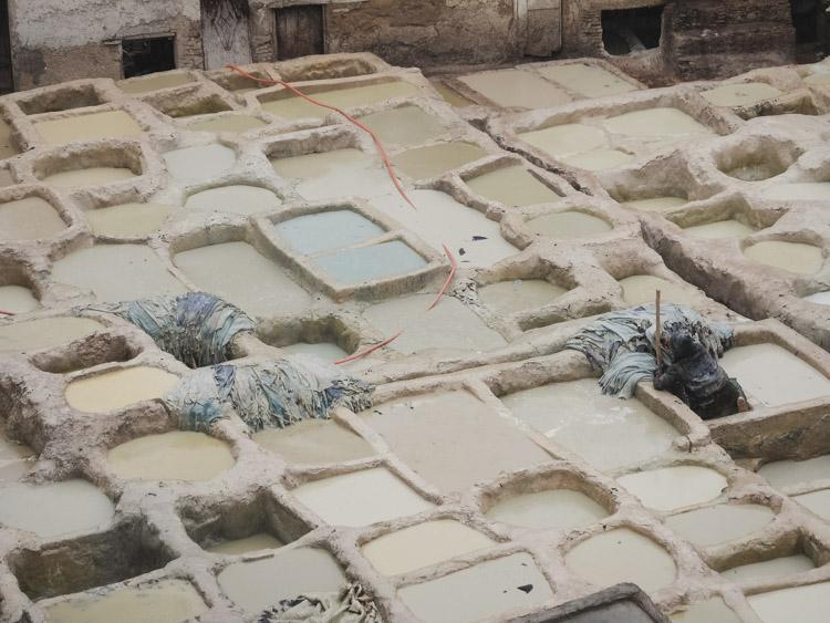 Koningsteden marokko rondreis leerlooierij