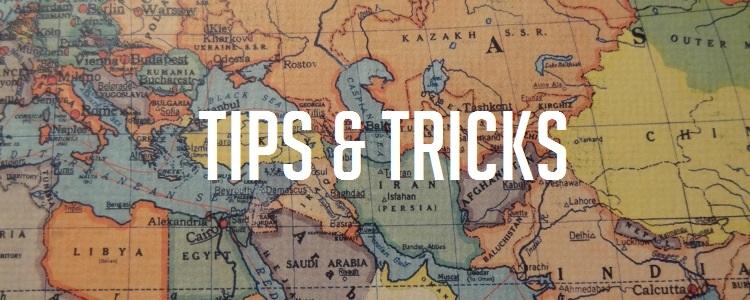 Kosten wereldreis sparen tips