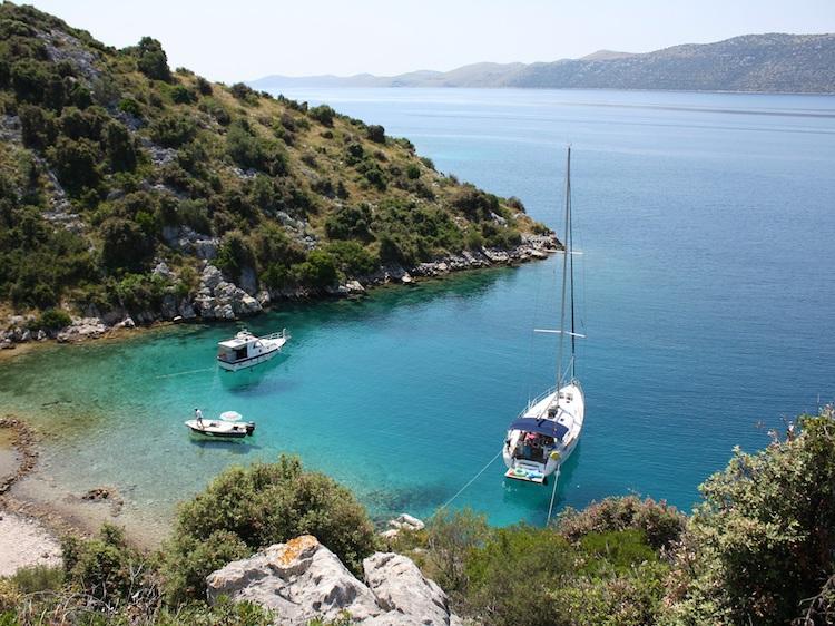 Kroatie eilandhoppen boot huren