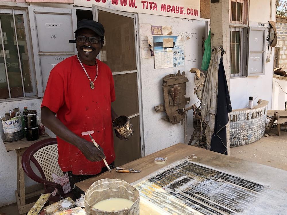 Kunst als bezienswardigheid in Dakar