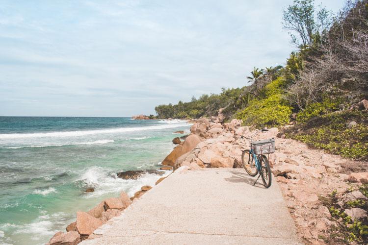 La Digue seychellen Anse Fourmis strand
