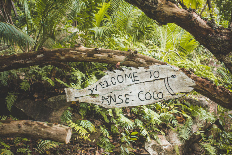 La Digue welcome to anse coco