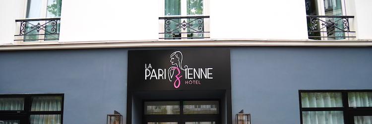 La Parizienne Hotel voordeur Parijs