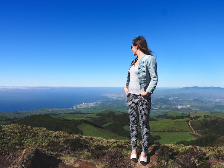 Lagoa do Fogo viewpoints onderweg Sao Miguel