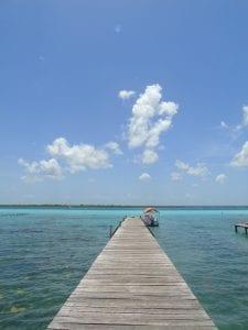 Laguna Bacalar kade pier