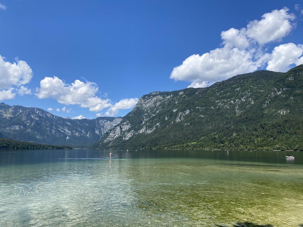 Lake Bohinj, Slovenie