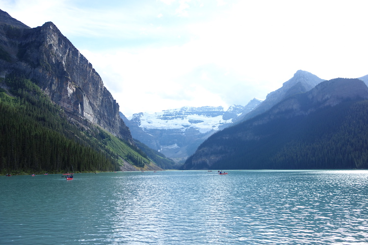 Lake Louise in West Canada