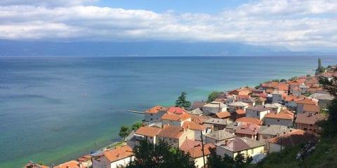Lake Ohrid Macedonie