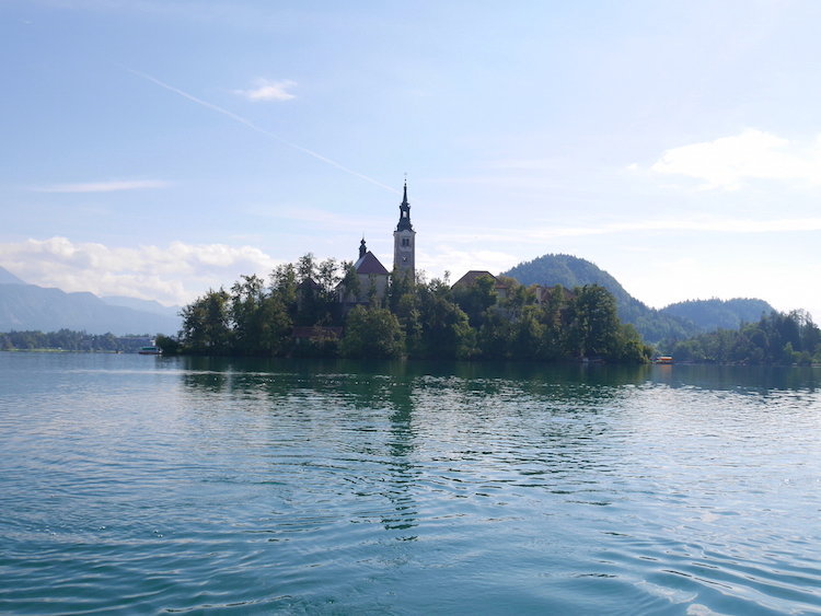 Lake bled eiland