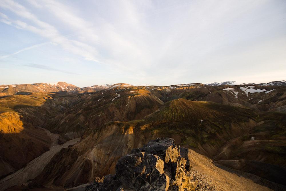 Landmannalaugar in ijsland