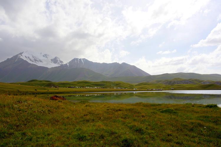 Landschap Kirgizie reizen