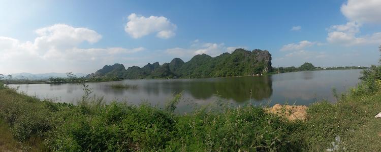 Landschappen vietnam fietsen