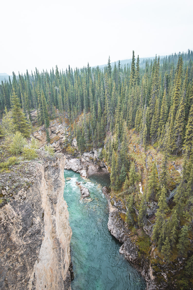 Lapie River South Canol Road Yukon_