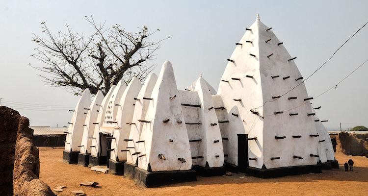Larabanga moskee Ghana rondreis