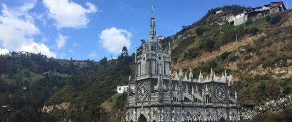 Las Lajas Santuario Colombia