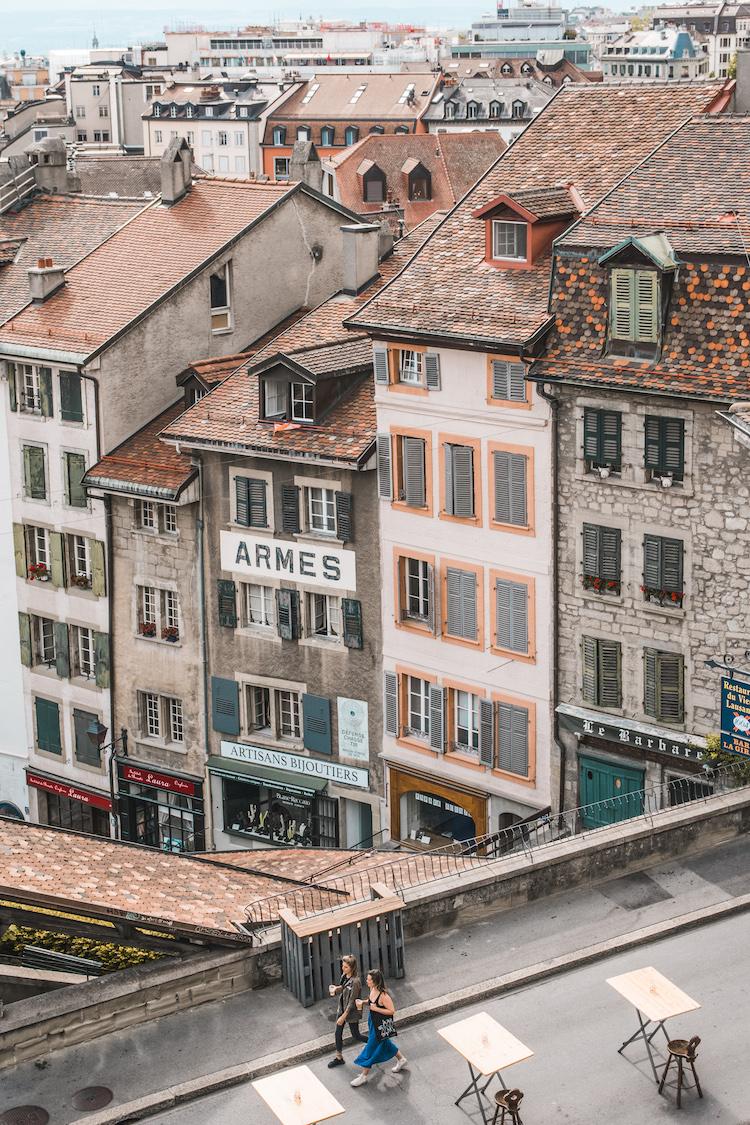 Lausanne centrum