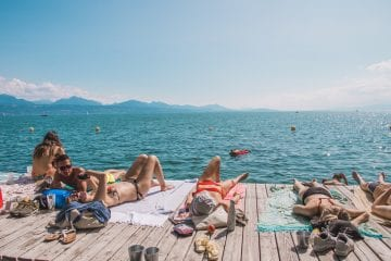 Lausanne zwitserland meer van geneve
