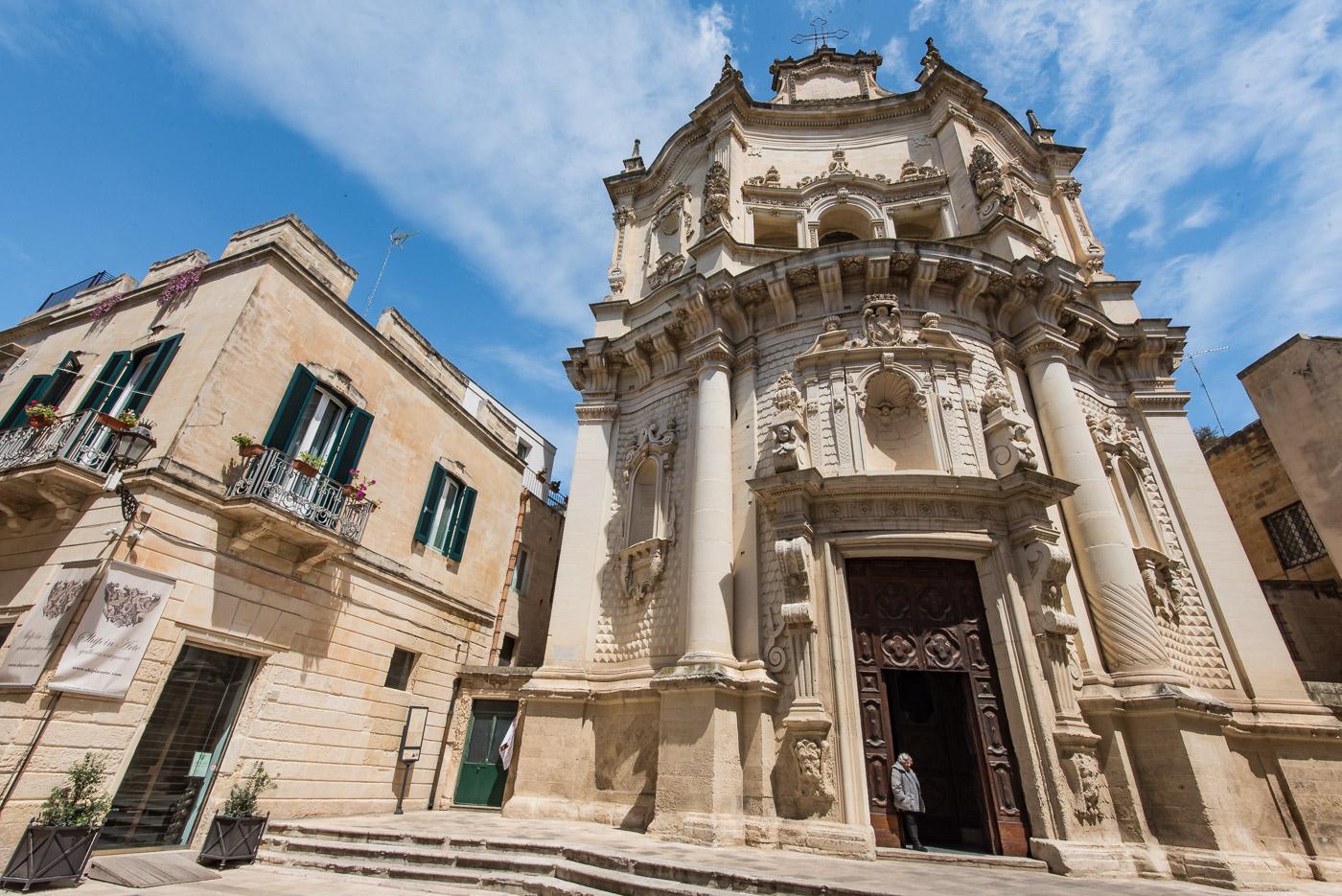 Lecce Puglia kerken