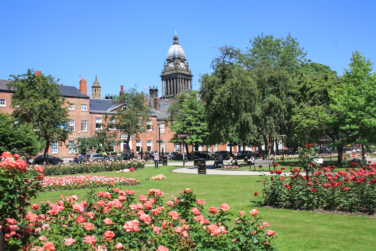 Leeds Engeland 14.00 Park Square