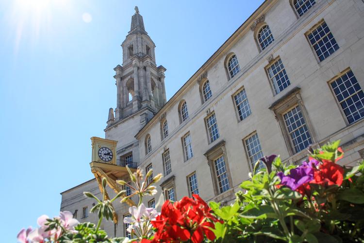 Leeds Millennium Square engeland