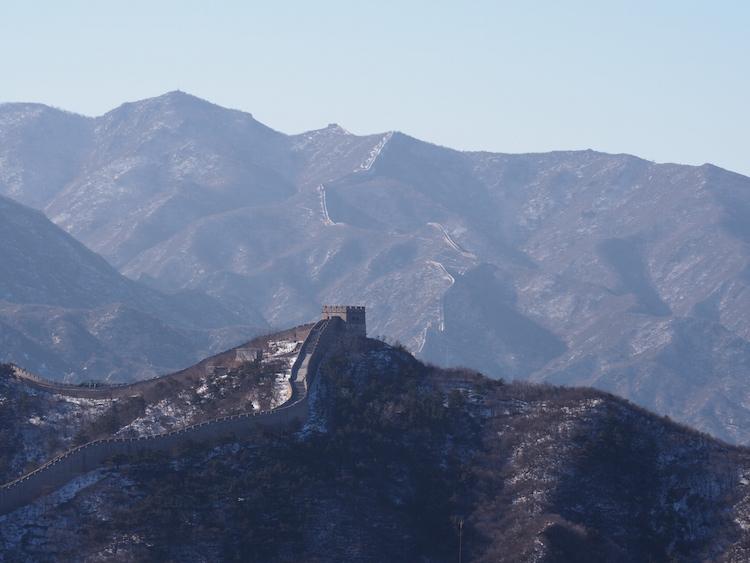 Lengte Chinese Muur