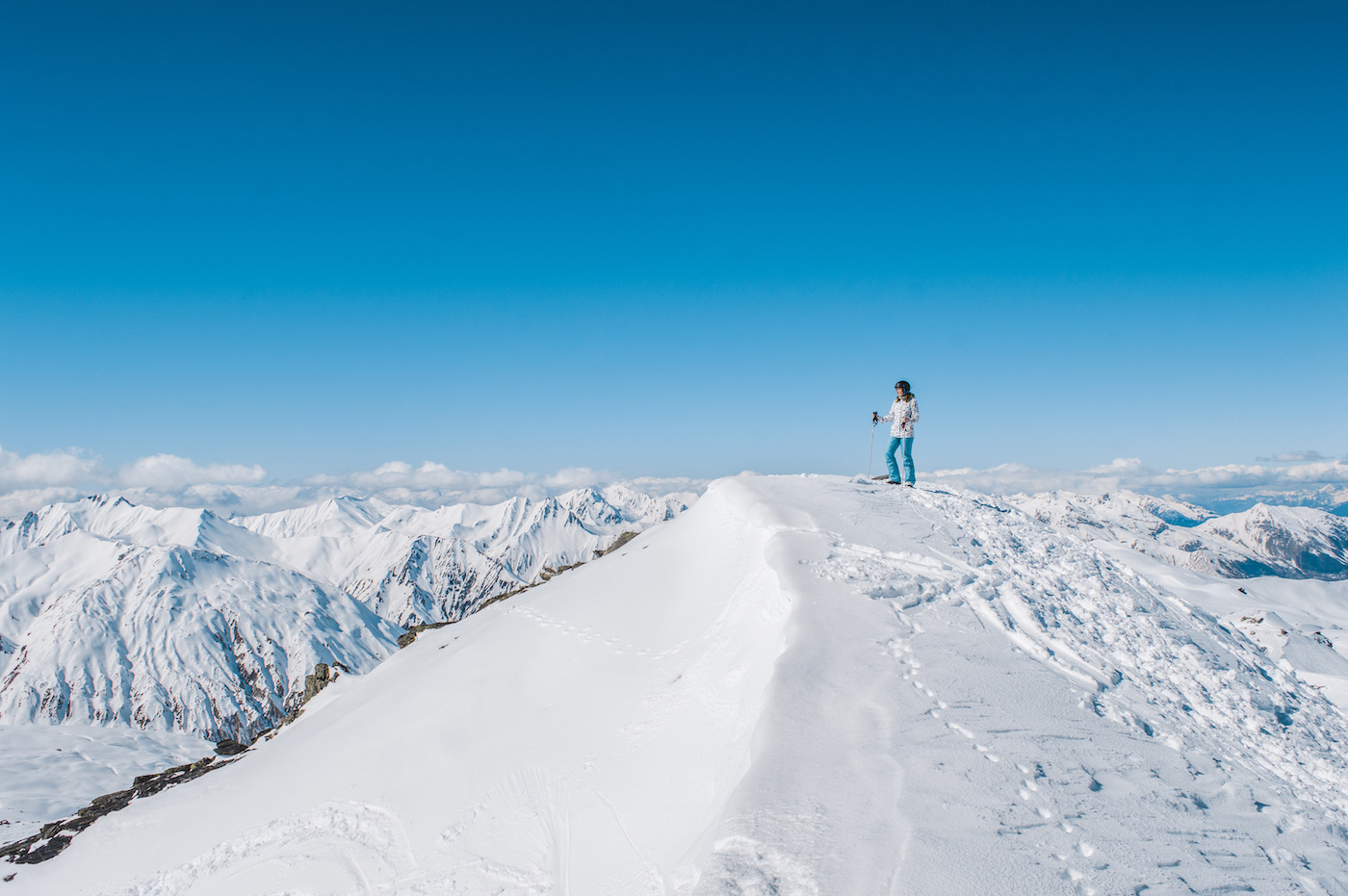 Les menuires wintersporten ervaring Skien