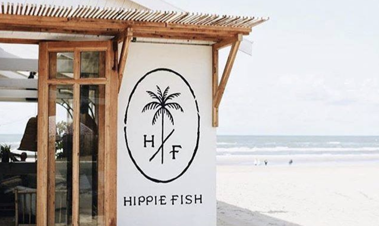 Leukste strandtenten nederland hippie fish