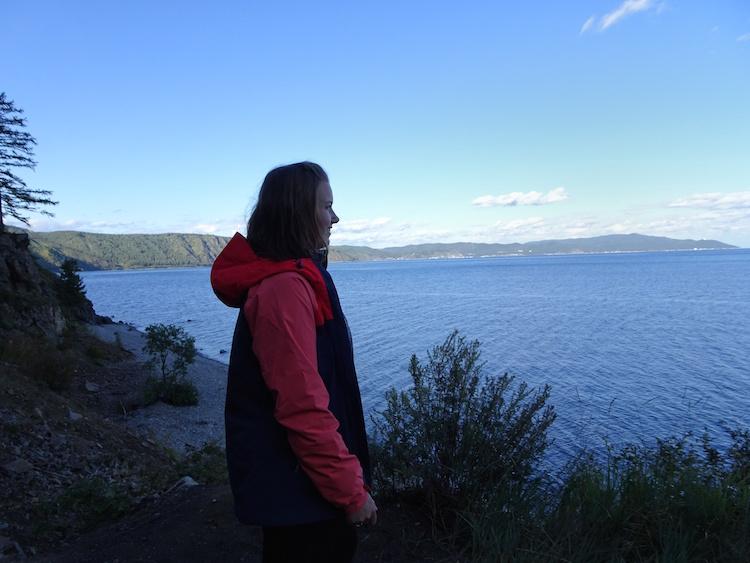 Lieske backpacken noord azie Siberie Baikal lake
