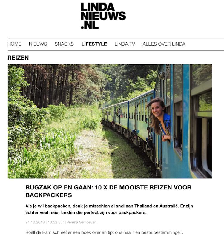 Linda Nieuws Backpack Bestemmingen interview
