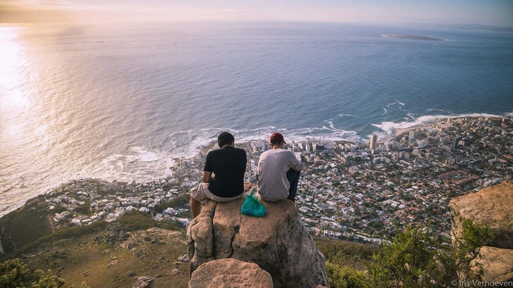 Lion's head beklimmen kaapstad tips