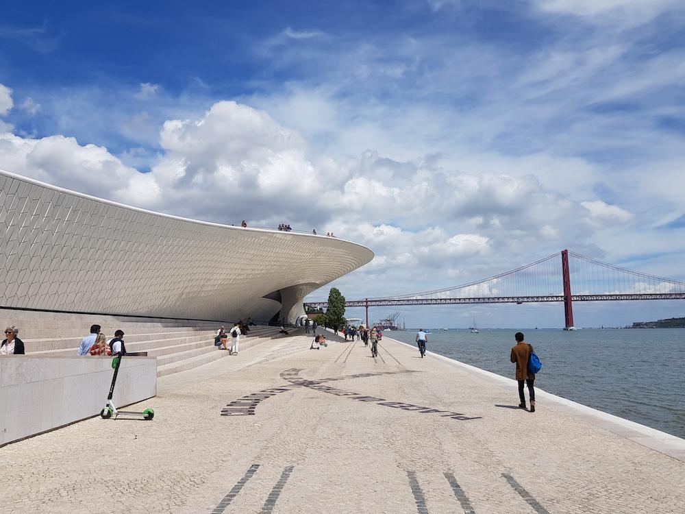 Lissabon MAAT en TAAG